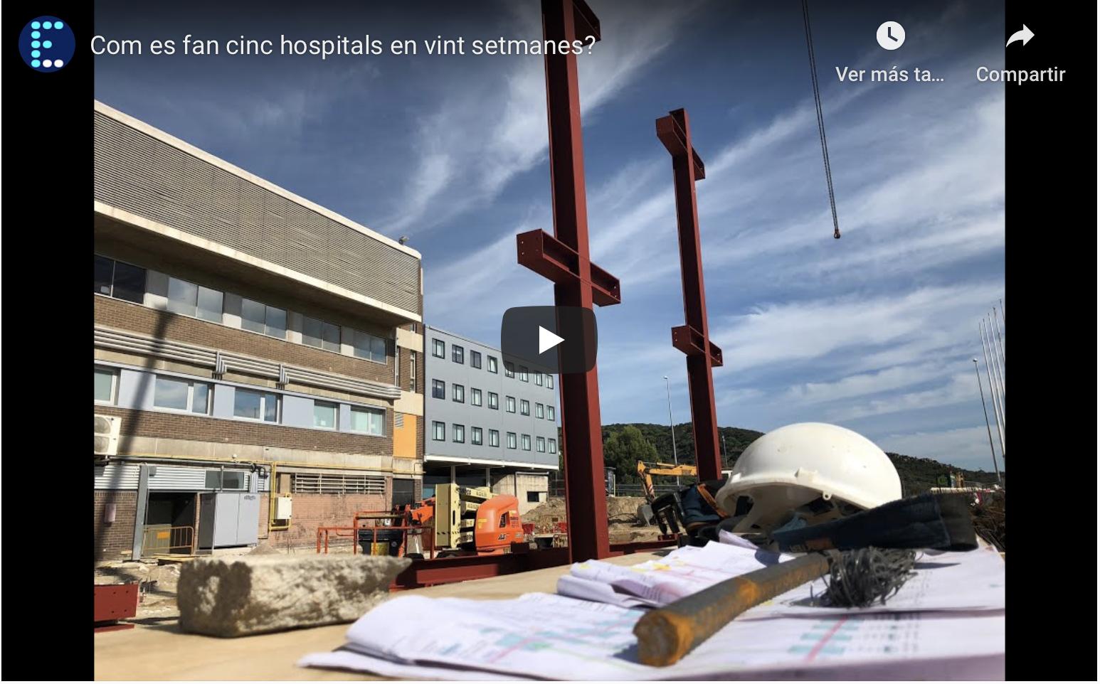 ¿Cómo construir 5 hospitales en 20 semanas?