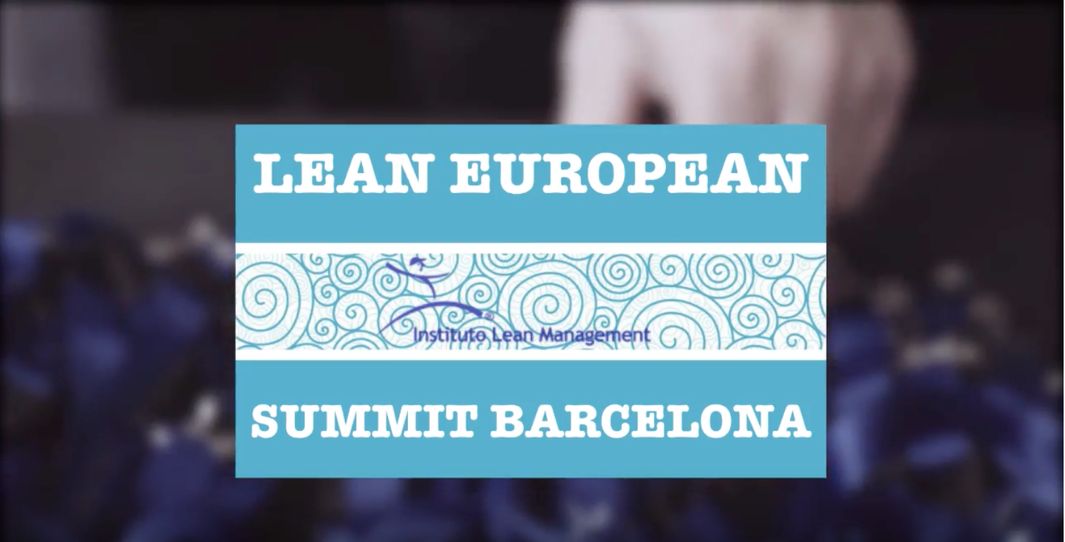 Lean European Summit 2016 @ Barcelona