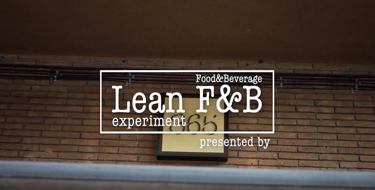 Lean Food & Beverage experiment in Barcelona